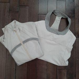 Lululemon Define Jacket and Scoop Me Tank Bundle
